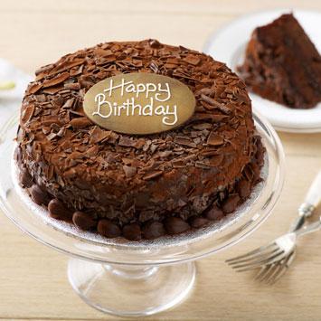 Happy Birthday Chocolate Cake 18