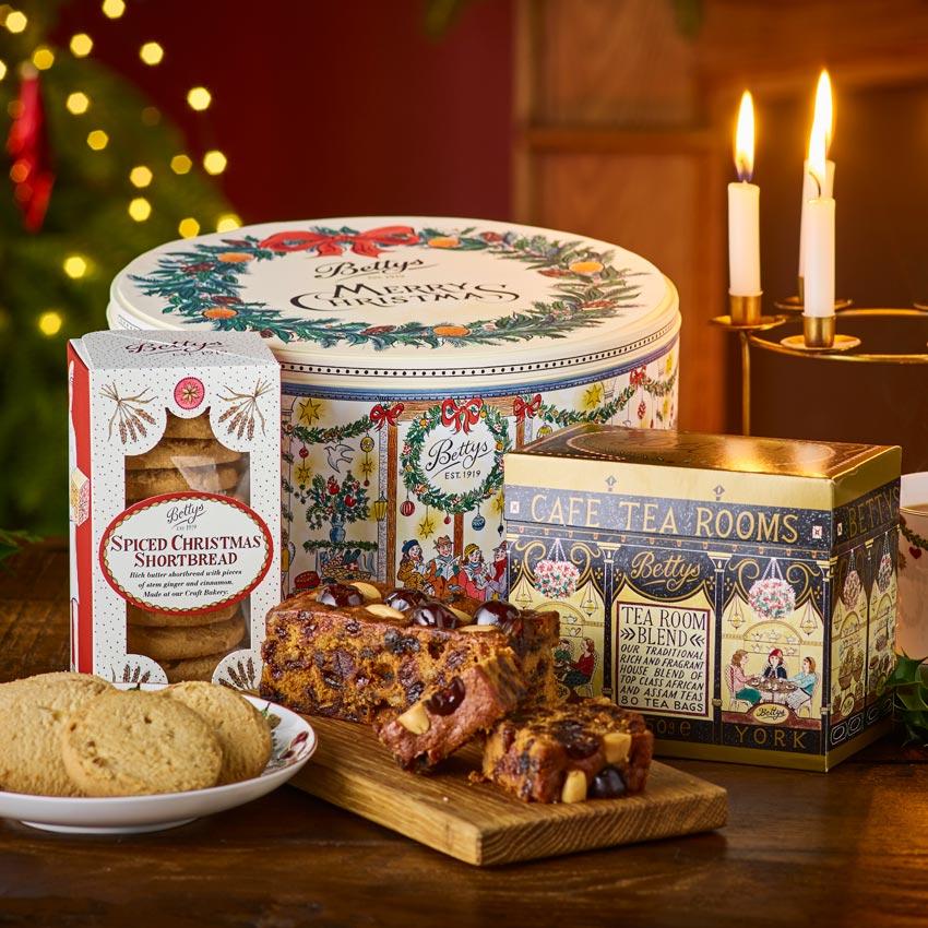 A Perfect Christmas Teatime Tin Bettys