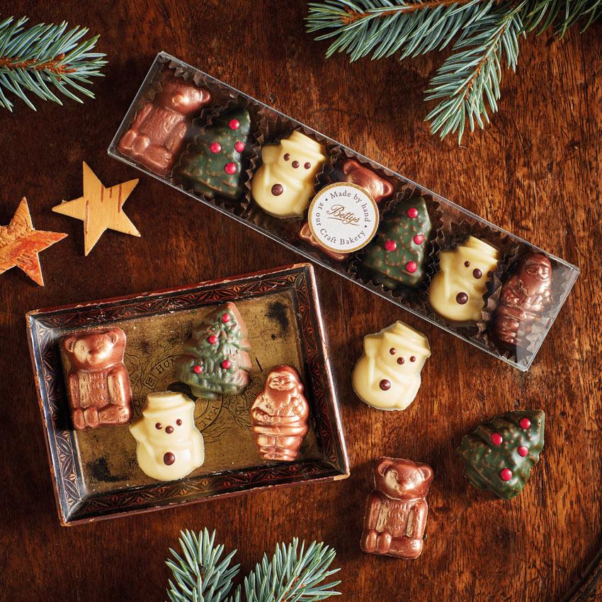 Chocolate Christmas Characters Bettys