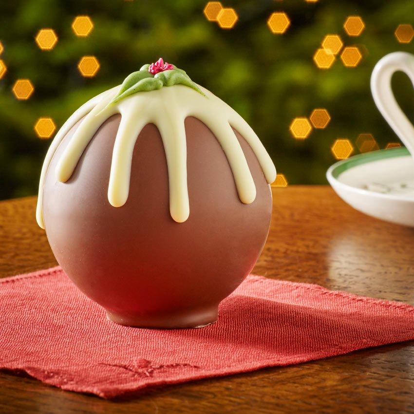 Chocolate Christmas Pudding Bettys