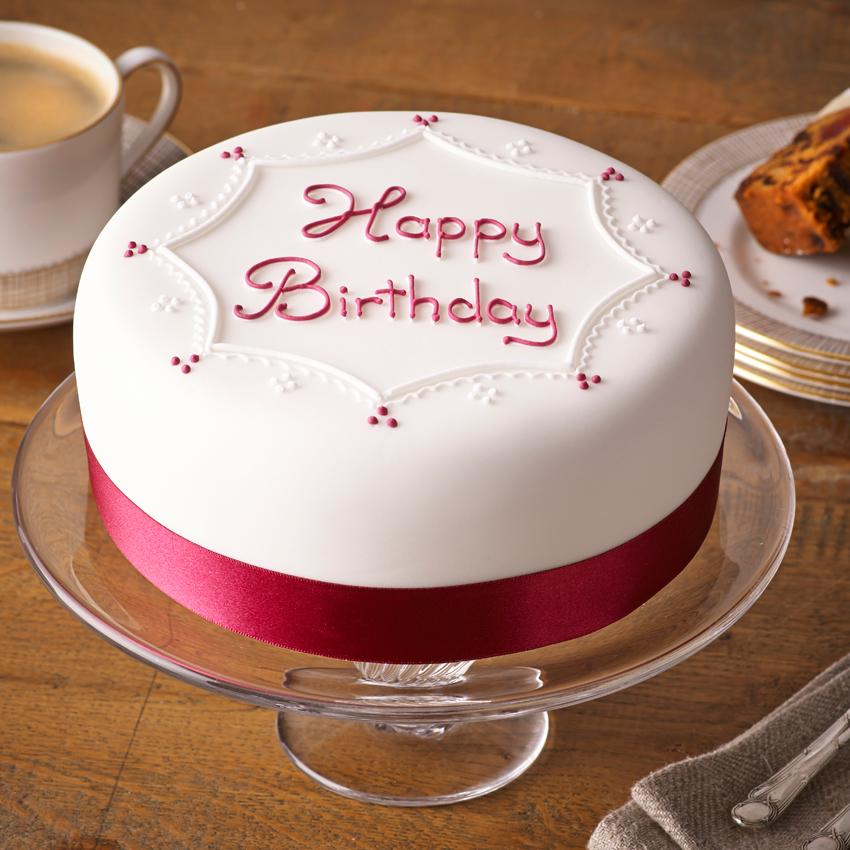 Soft iced happy birthday cake bettys - Happy birthday cake picture ...