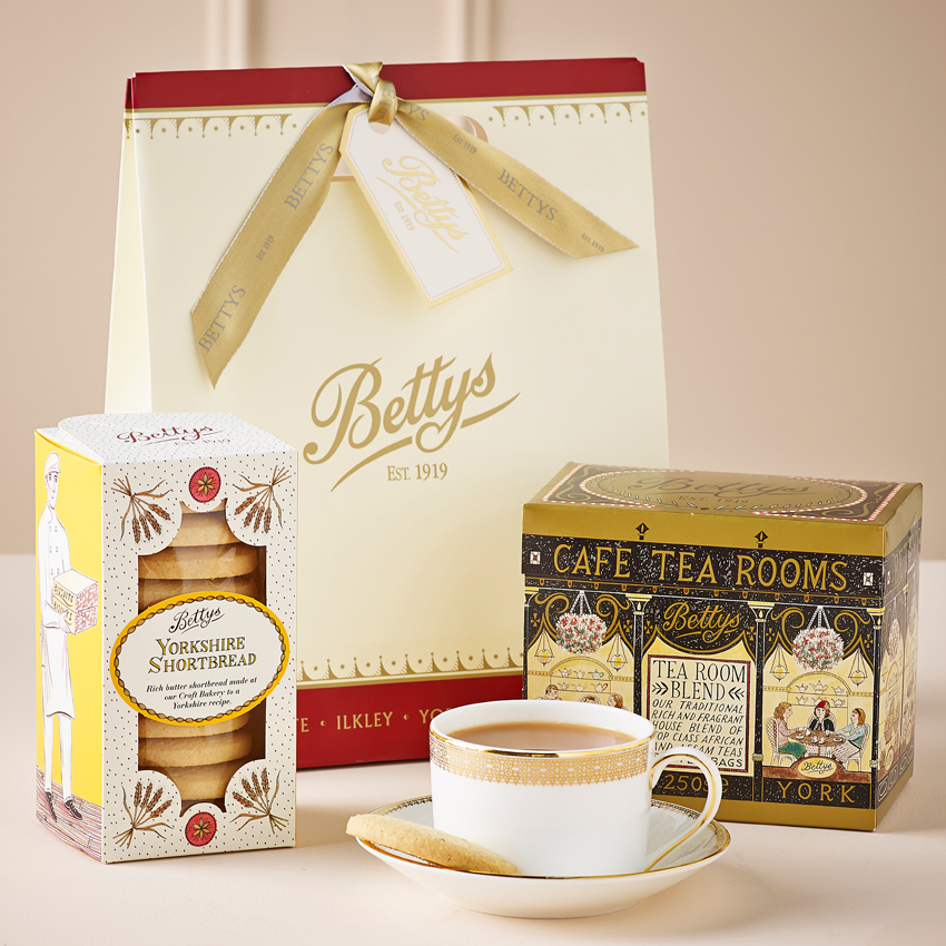 Tea Amp Biscuits Gift Bag Bettys