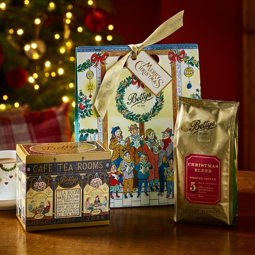 Tea Amp Coffee Christmas Gift Bag Bettys